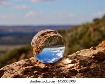 Wilpena Pound in Lensball, South Australia