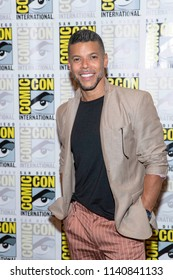 """Wilson Cruz attends Comic-Con International San Diego 2018 - """"Star Trek Discovery"""" Press Conference and Red Carpet , San Diego, California on July 19, 2018"""
