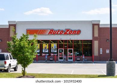 WILSON, NC - MAY 20: An exterior of an Auto Zone location in Wilson, NC. AutoZone is the largest retailer of aftermarket automotive parts and accessories in the United States.