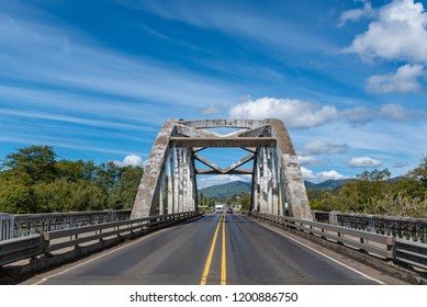 Wilson River Bridge, known as Wilson River Bridge at Tillamook The Bridge was opened in 1931. Situated near Tillamook, Oregon, United States. The bridge was designed