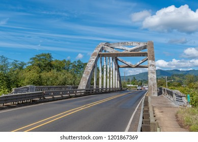 Wilson River Bridge, also known as Wilson River Bridge at Tillamook or Wilson River Bridge No. 01499. The Bridge was opened in 1931.