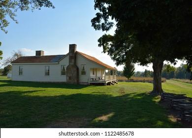 Wilson's Creek Battlefield in summer.