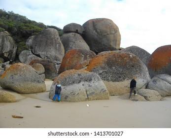 Wilsons Prom coastline in Australia