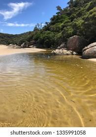 Wilson's Prom, South Gippsland LGA, Gippsland, Victoria, Australia. Beach views.