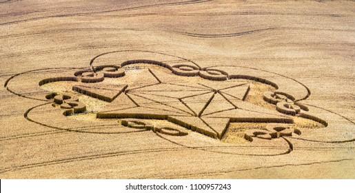 Wiltshire UK - The crop circle