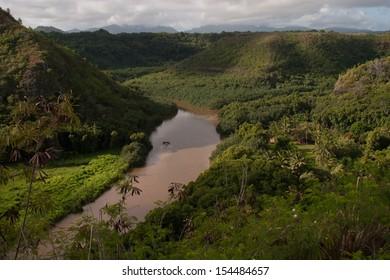 Wimea River- Kauai, HI.
