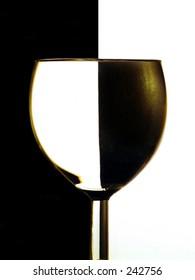 Win glass shot in colour