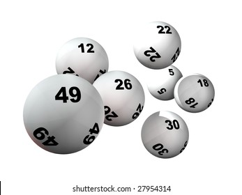 Win numbers and lottery balls