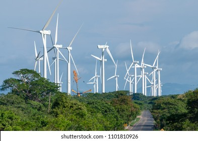 win turbine south nicaragua