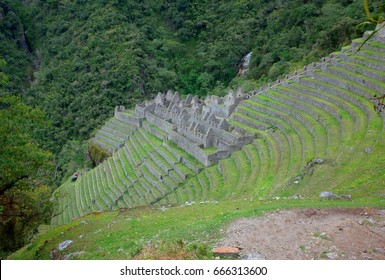 The Winay Wayna ruins on the Inca Trail