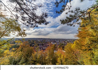 Winchester City in the UK, captured in the autumn