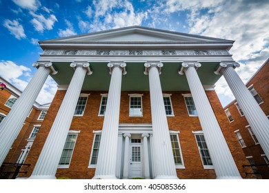 Winchester Hall, in Frederick, Maryland.