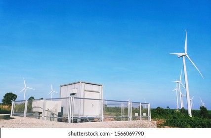 Wind energy turbines and electricity converters