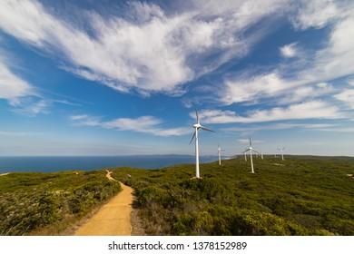Wind farm of Albany