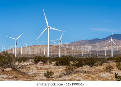 Wind Farm in the California Desert