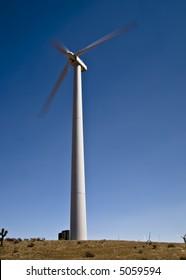 Wind farm near Tehachapi, California