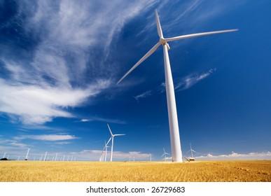 A wind farm in South Australia