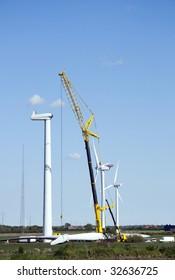 Wind generator construction