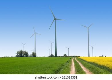Wind generators - Power from renewable source