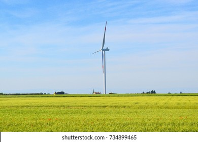 Wind. Landscape