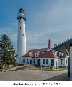 Wind Point Light, Lake Michigan, Racine Wisconsin