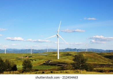 The wind power generation