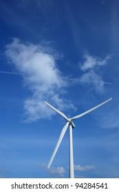 Wind power generation, Clean energy,  Ibaraki in Japan