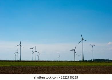 Wind power plant, wind furbine