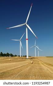 Wind power plants in Czech republic