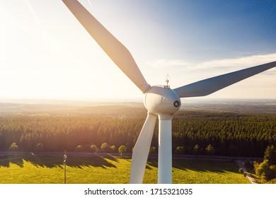 Wind Power Renewable Energy Plant