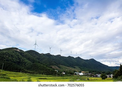 Wind power windmill / green  energy