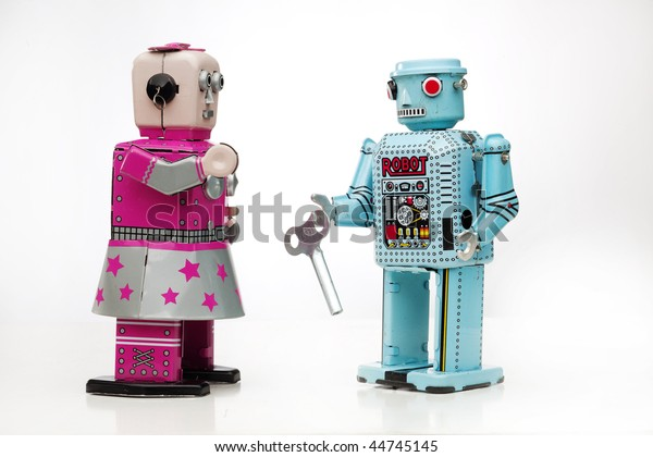 wind up robot friends