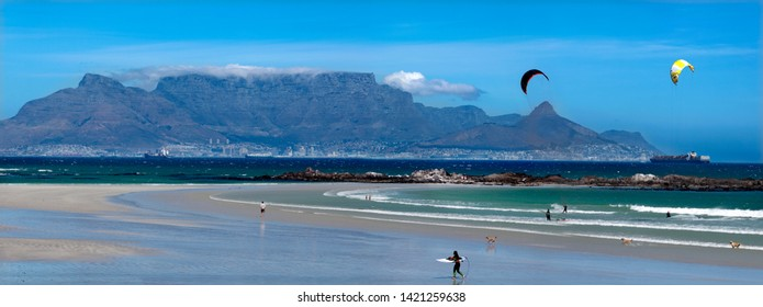 Wind Surfing Cape Town Table Mountain