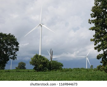 Wind turbine is the clean energy for keep clean the earth.