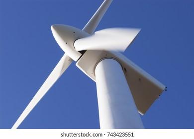 Wind turbine at the Esperance Wind Farm, Western Australia.