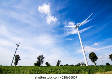 wind turbine for generated electricity, renewable energy