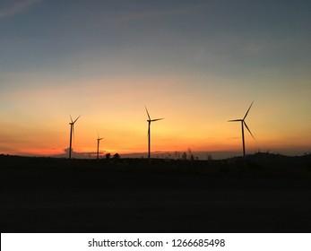 wind turbine, wind generator, wind power unit (WPU), wind energy converter
