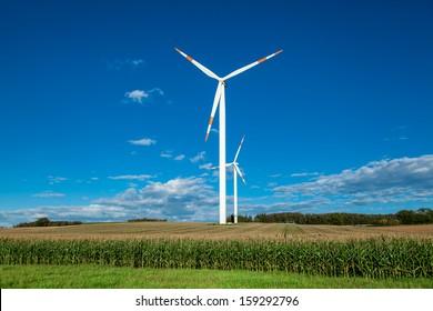 Wind turbine in germany
