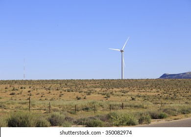Wind turbine in Jordan