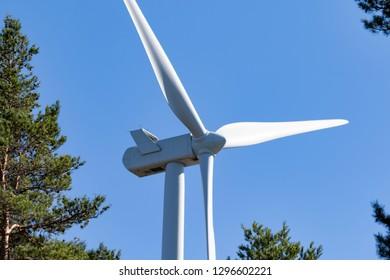 wind turbine - wind mill generating sustainable energy