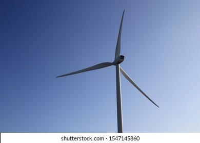Wind turbine, Neeltje Jans island, Netherlands.