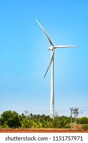 Wind Turbine Power Concept