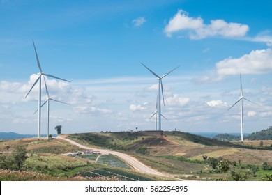 wind turbine of power plant