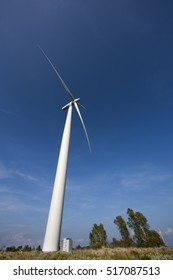 Wind turbine for renewable eco friends energy production