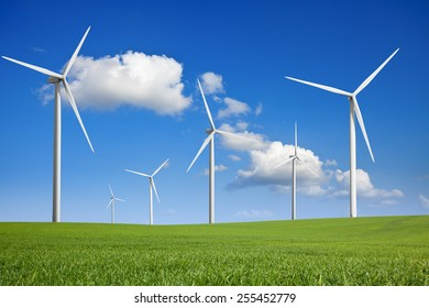 WIND TURBINE AND SUN