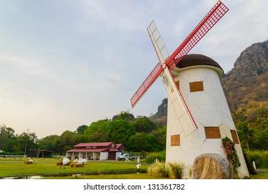 Wind turbine from thailand