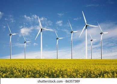 Wind Turbines - alternative  energy source