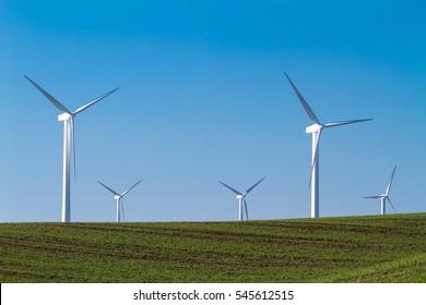 Wind Turbines in the California Delta