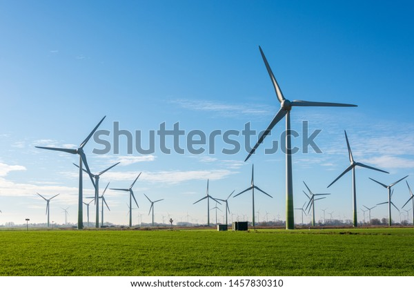 Wind turbines for ecological power supply are ideal to operate in the wind-rich East Frisian coastal region.