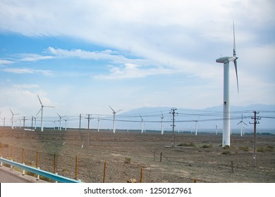 Wind turbines energy source in china